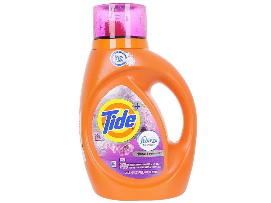 Nước giặt Tide Spring & Renewal 1.36 lít 1