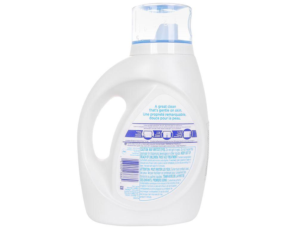 Nước giặt Tide Free & gentle 1.4 lít 2