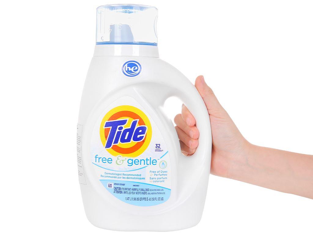 Nước giặt Tide Free & gentle 1.4 lít 4