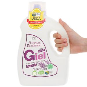 Nước giặt hữu cơ sinh học Giel hương Lavender can 3 lít