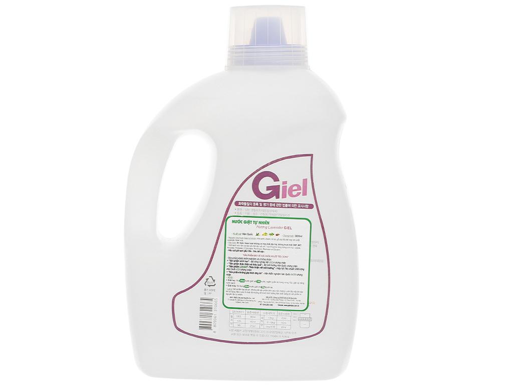 Nước giặt hữu cơ sinh học Giel hương Lavender can 3 lít 2