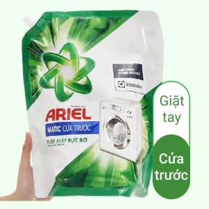 Nước giặt Ariel Matic cửa trước tươi mát rực rỡ 1.8 lít