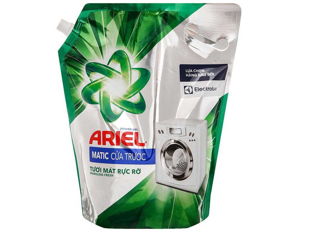Nước giặt Ariel Matic cửa trước tươi mát rực rỡ túi 3.1 lít 1