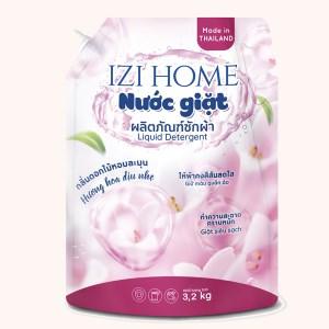 Nước giặt IZI HOME hương hoa dịu nhẹ túi 3.2kg