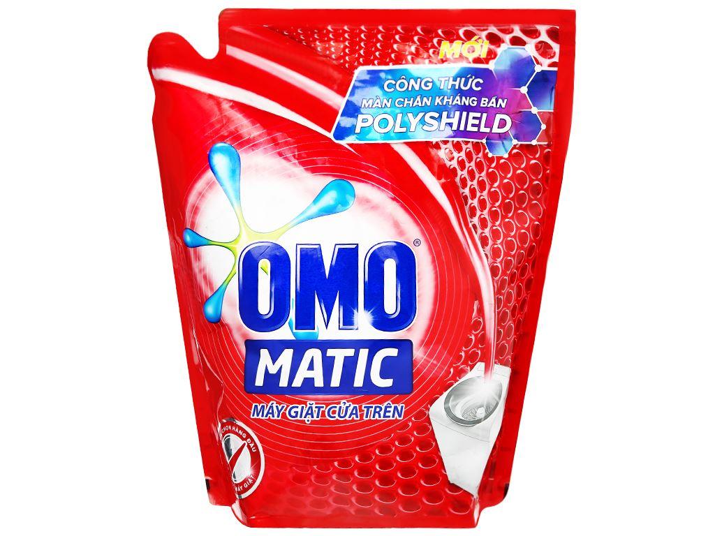 Nước giặt OMO Matic 3X xoáy bay vết bẩn túi 2.7kg 1