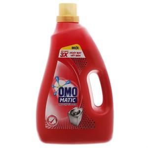 Nước giặt OMO Matic 3x xoáy bay vết bẩn 2.7kg