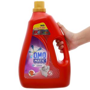 Nước giặt OMO Matic giữ màu chai 3.8kg
