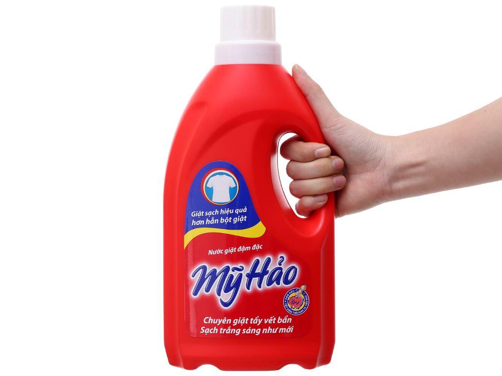 Nước giặt Mỹ Hảo đậm đặc chai 1.8kg 5