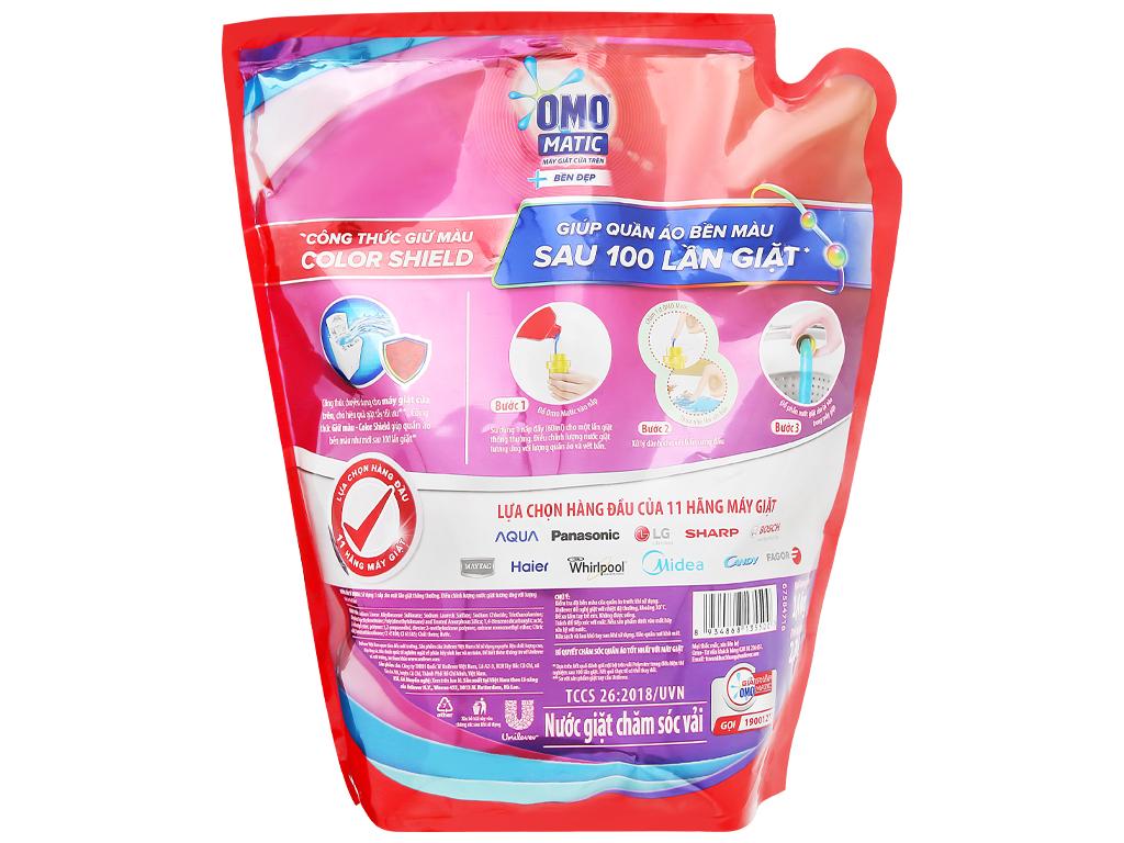 Nước giặt OMO Matic bền đẹp túi 2.3kg 2