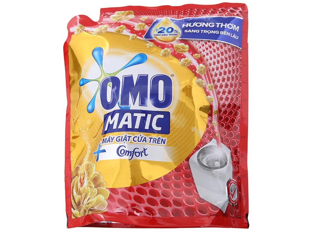 Nước giặt OMO Matic Comfort tinh dầu thơm túi 2.4kg 2