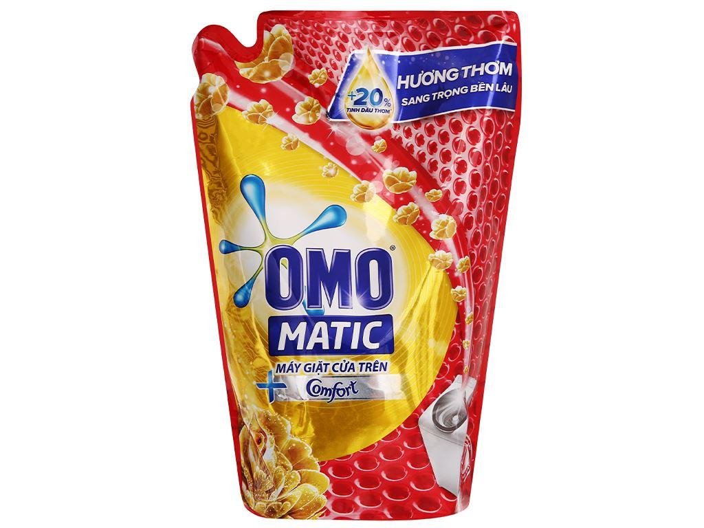 Nước giặt OMO Matic cửa trên Comfort tinh dầu thơm 1.9 lít 5