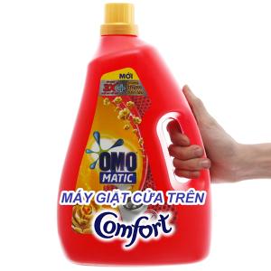 Nước giặt OMO Matic Comfort tinh dầu thơm chai 3.7kg