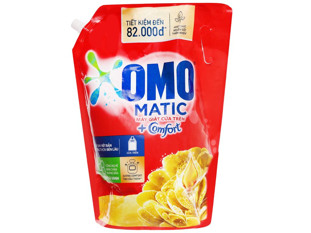 Nước giặt OMO Matic comfort tinh dầu thơm chai 3.5 lít 11