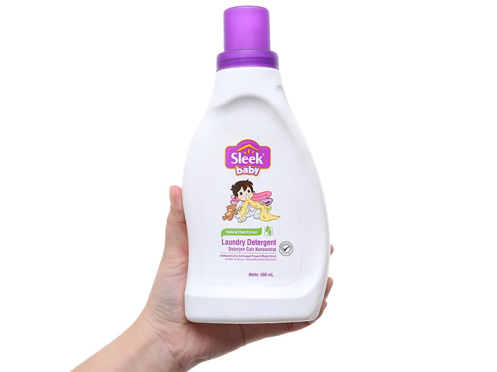 Nước giặt Kodomo diệt khuẩn dịu nhẹ chai 500ml 4