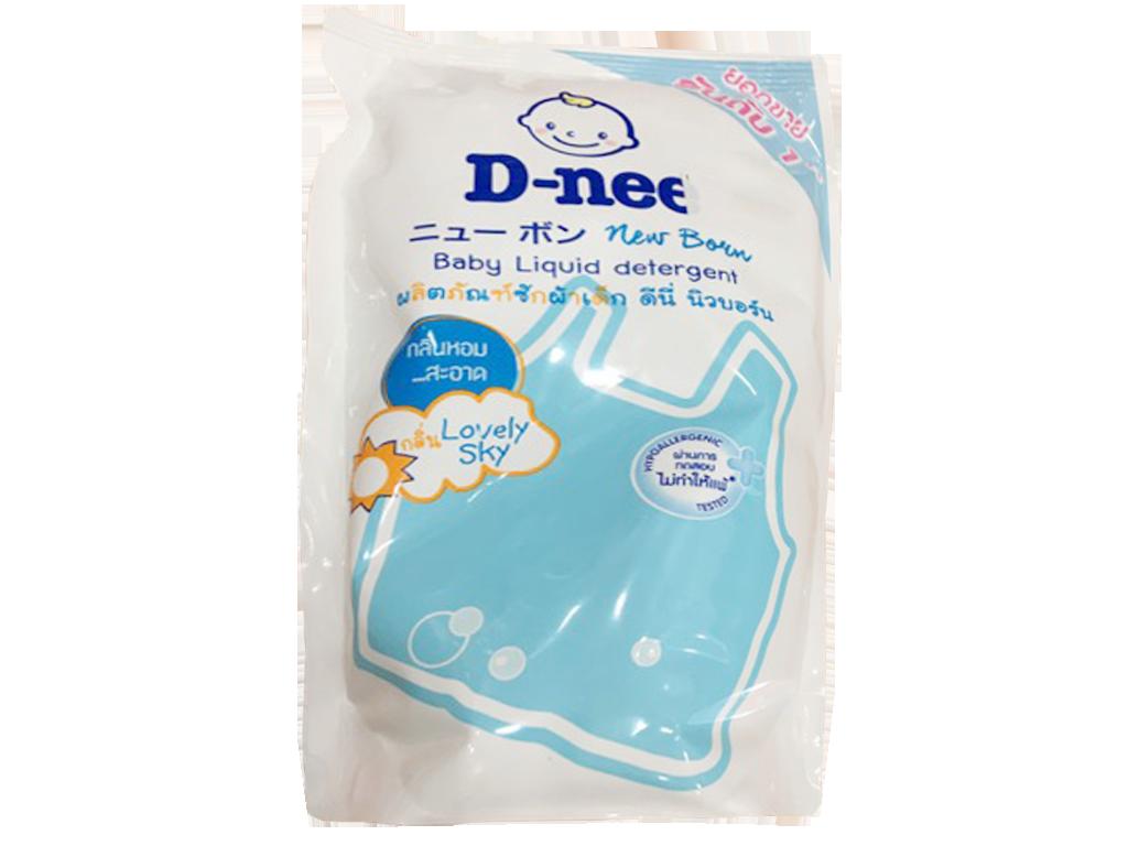 Nước giặt cho bé D-nee xanh túi 600ml 1