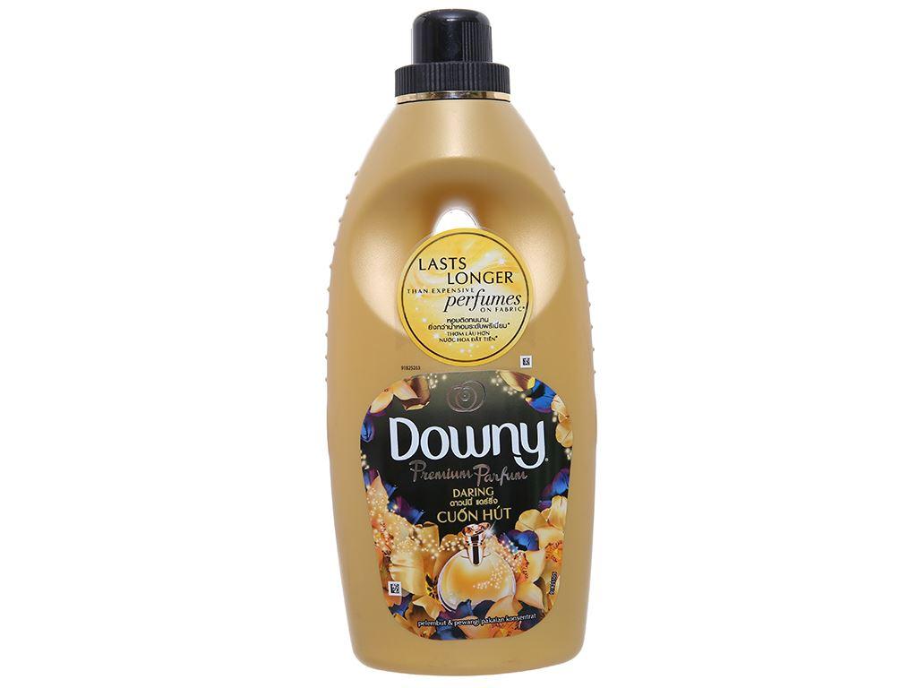 Nước xả vải Downy Premium Parfum cuốn hút chai 800ml 1