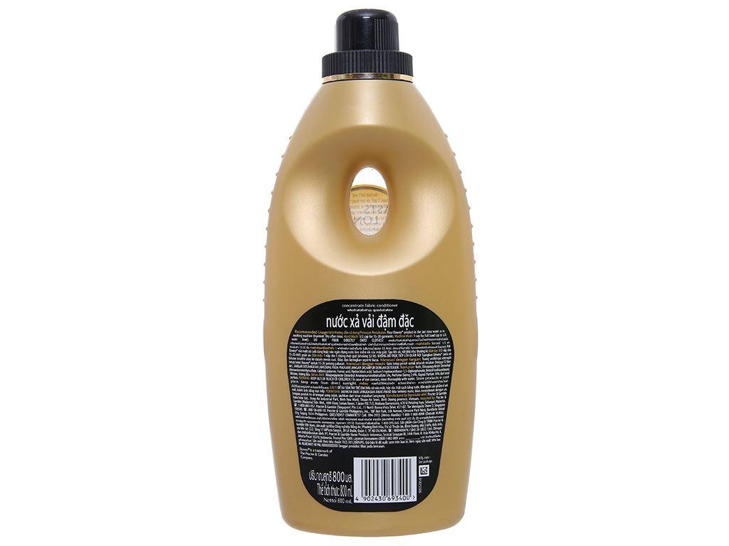 Nước xả vải Downy Premium Parfum cuốn hút chai 800ml 2
