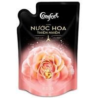 Nước xả vải Comfort hương Nước hoa thiên nhiên Rose túi 1,6lít