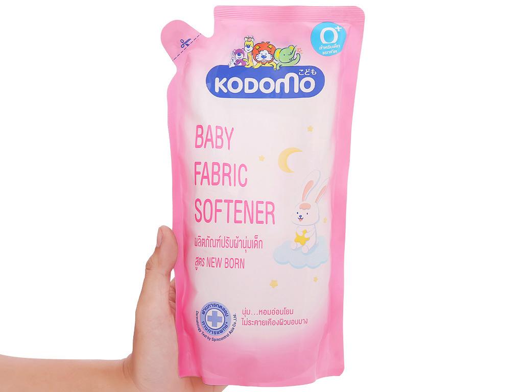 Nước xả vải cho bé Kodomo túi 600ml 4