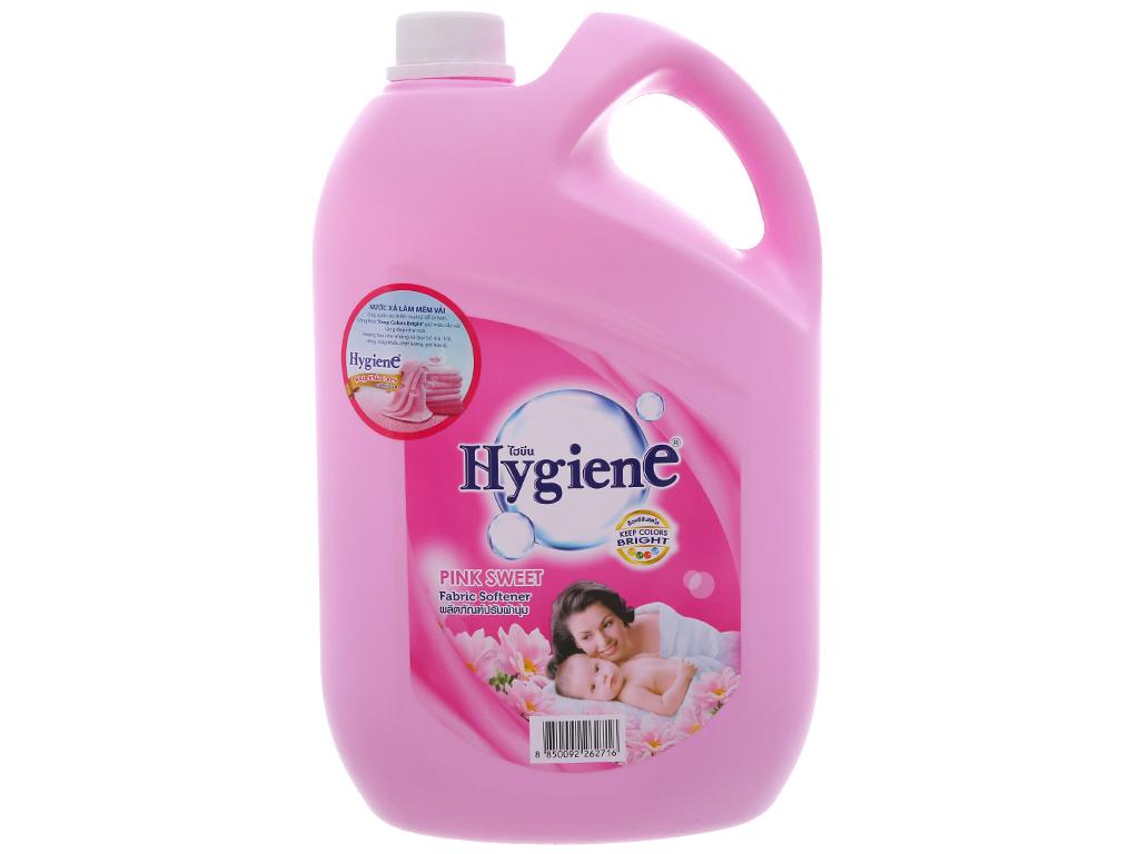 Nước xả vải cho bé Hygiene Pink Sweet can 3.5L 2
