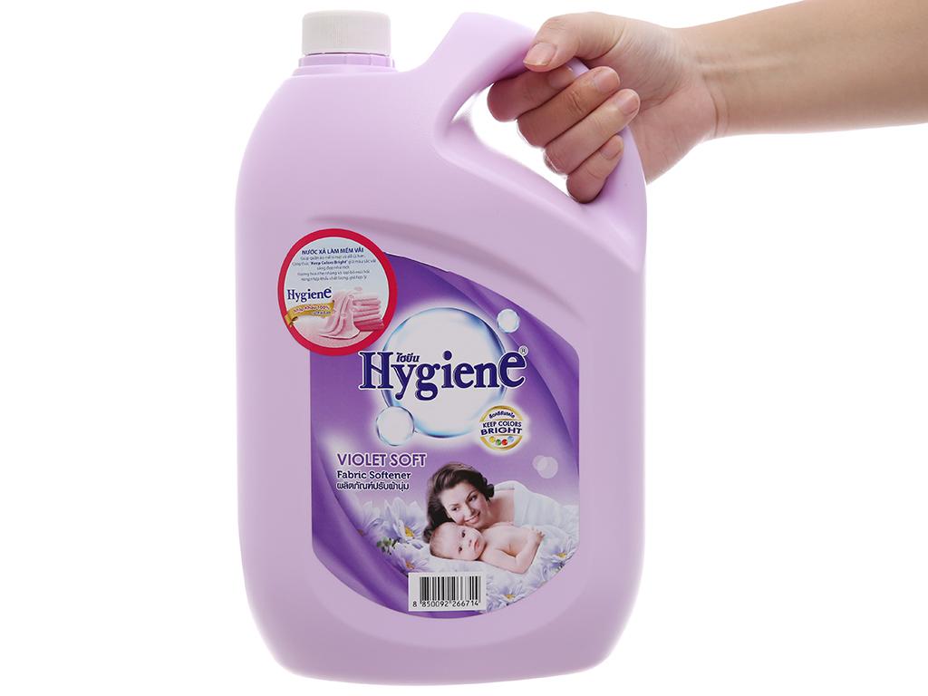 Nước xả vải cho bé Hygiene Violet Soft can 3.5 lít 4