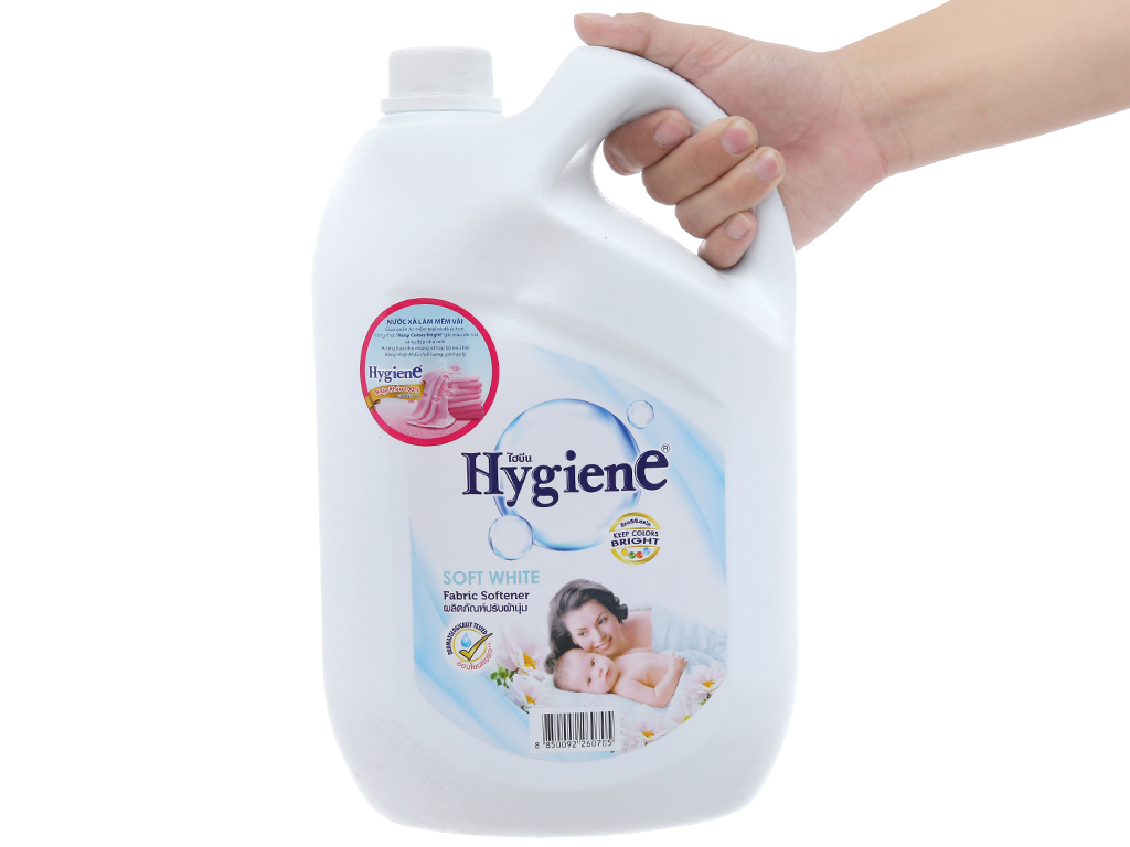 Cho bé Hygiene Soft White can 3.5 lít 4