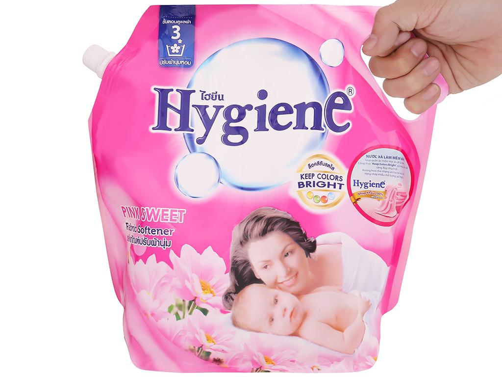 Nước xả vải cho bé Hygiene Pink Sweet túi 1.8 lít 8