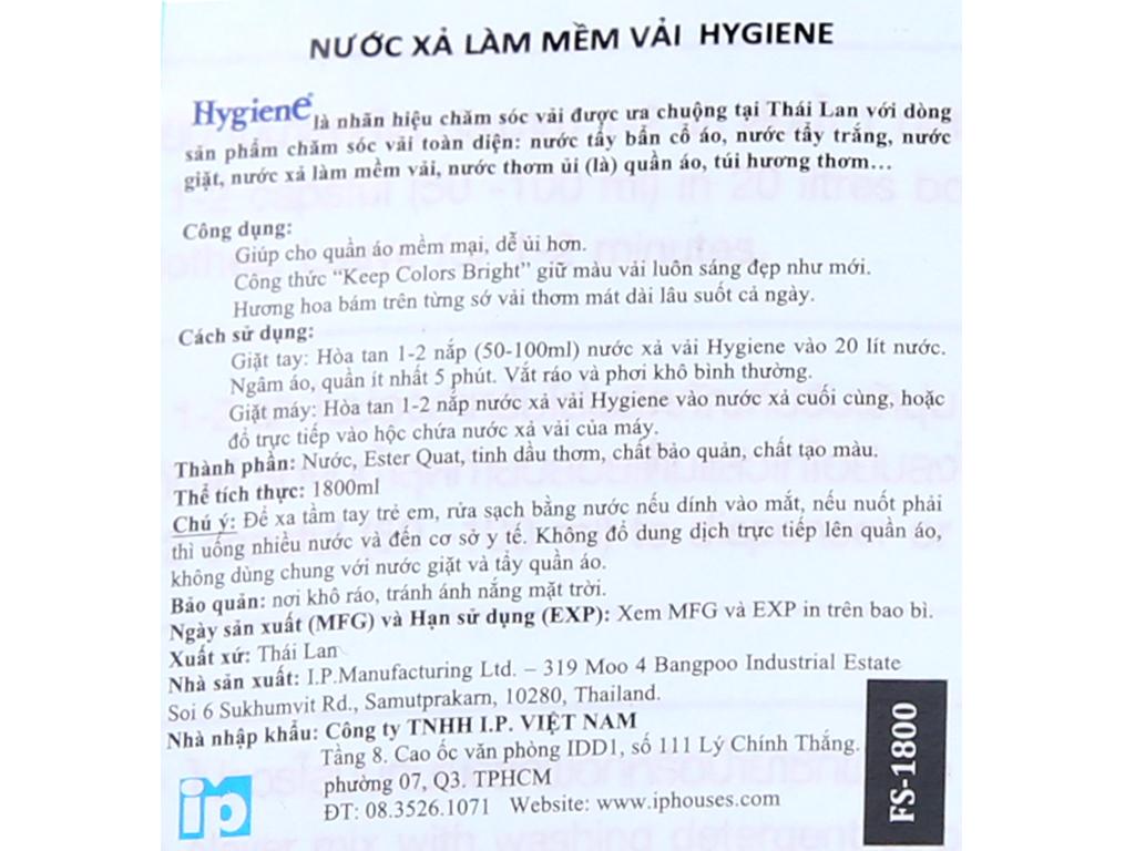 Cho bé Hygiene Ocean Blue túi 1.8 lít 3