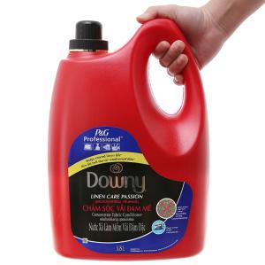 Nước xả vải Downy chăm sóc vải đam mê can 3.8 lít