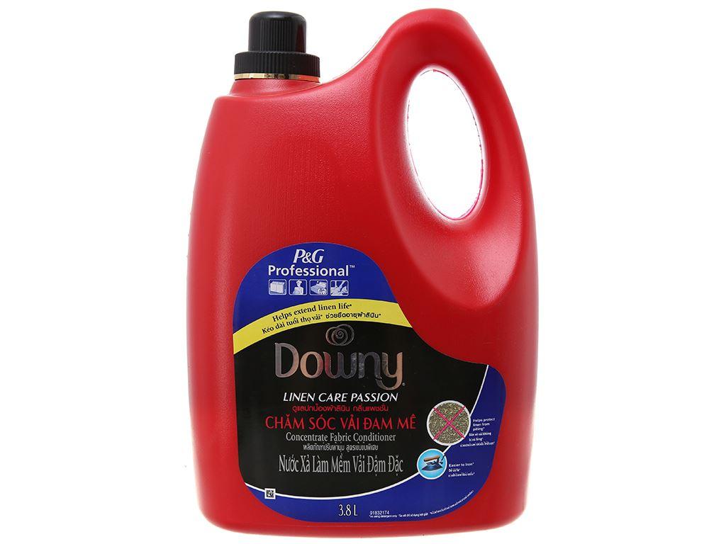 Nước xả vải Downy chăm sóc vải đam mê can 3.8 lít 2