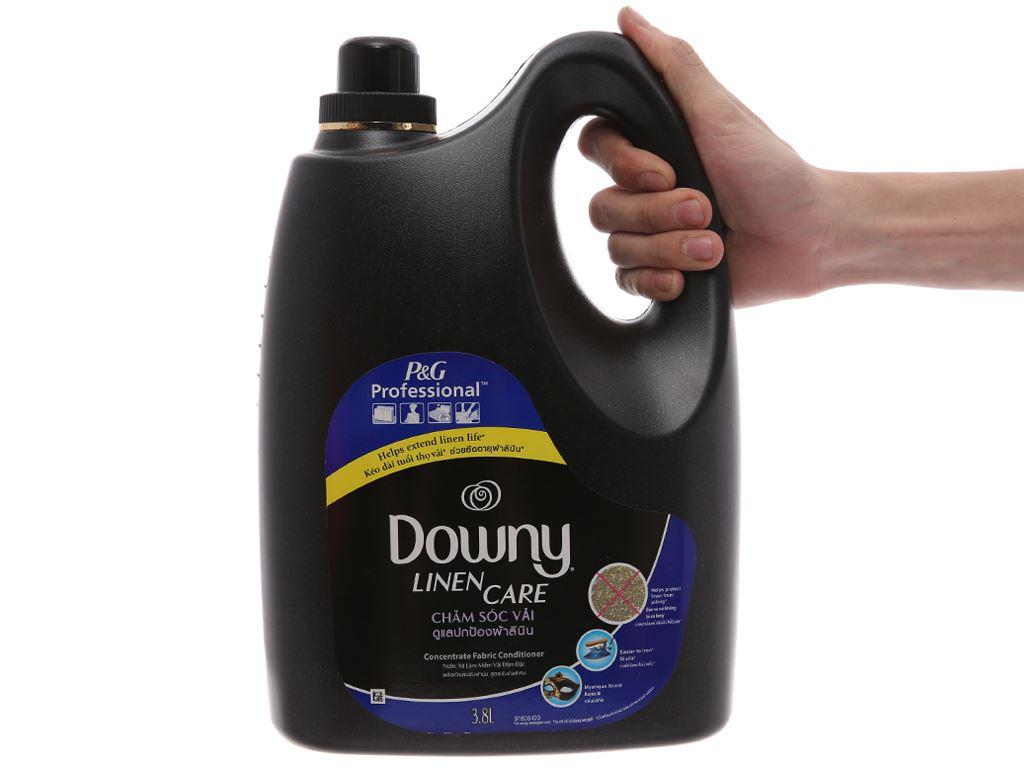 Nước xả vải Downy chăm sóc vải huyền bí can 3.8 lít 5