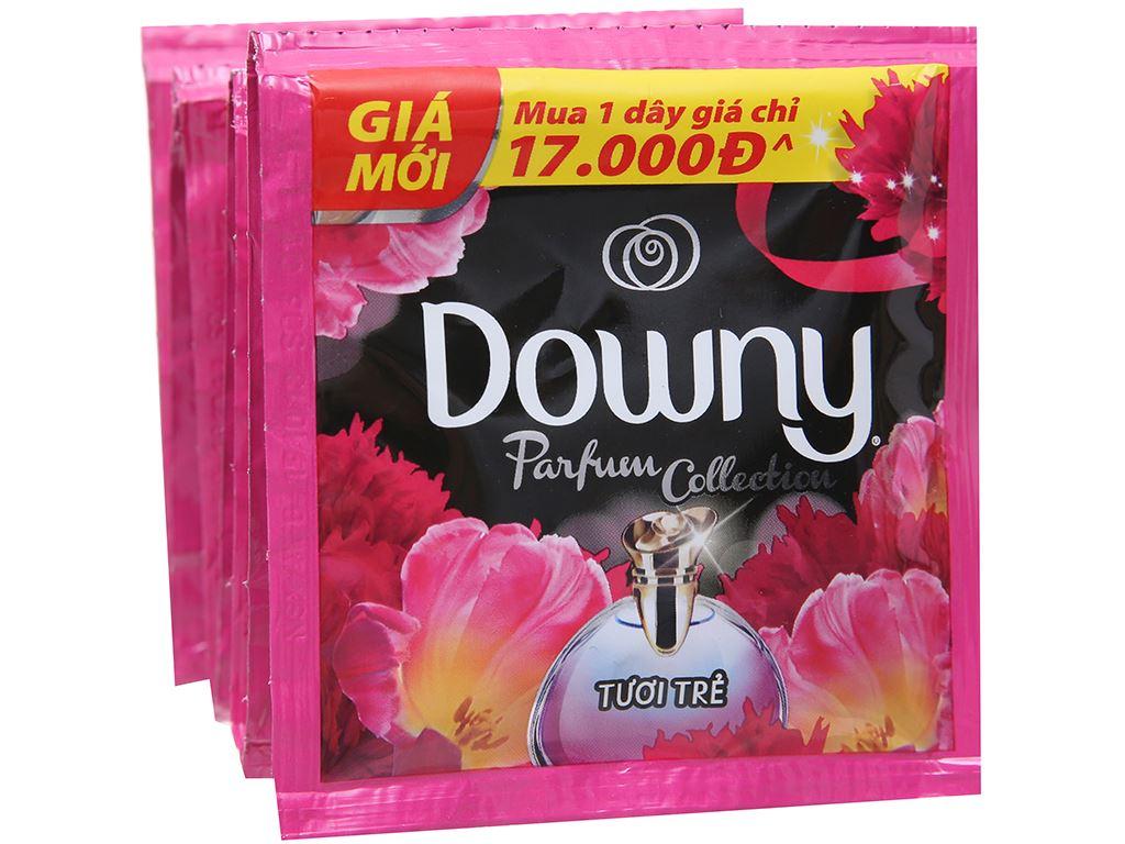 9 gói nước xả vải Downy Parfum Collection tươi trẻ 20ml 4