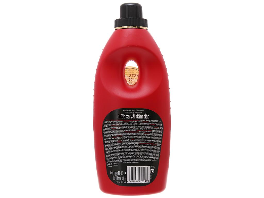 Nước xả vải Downy đam mê chai 800ml 3