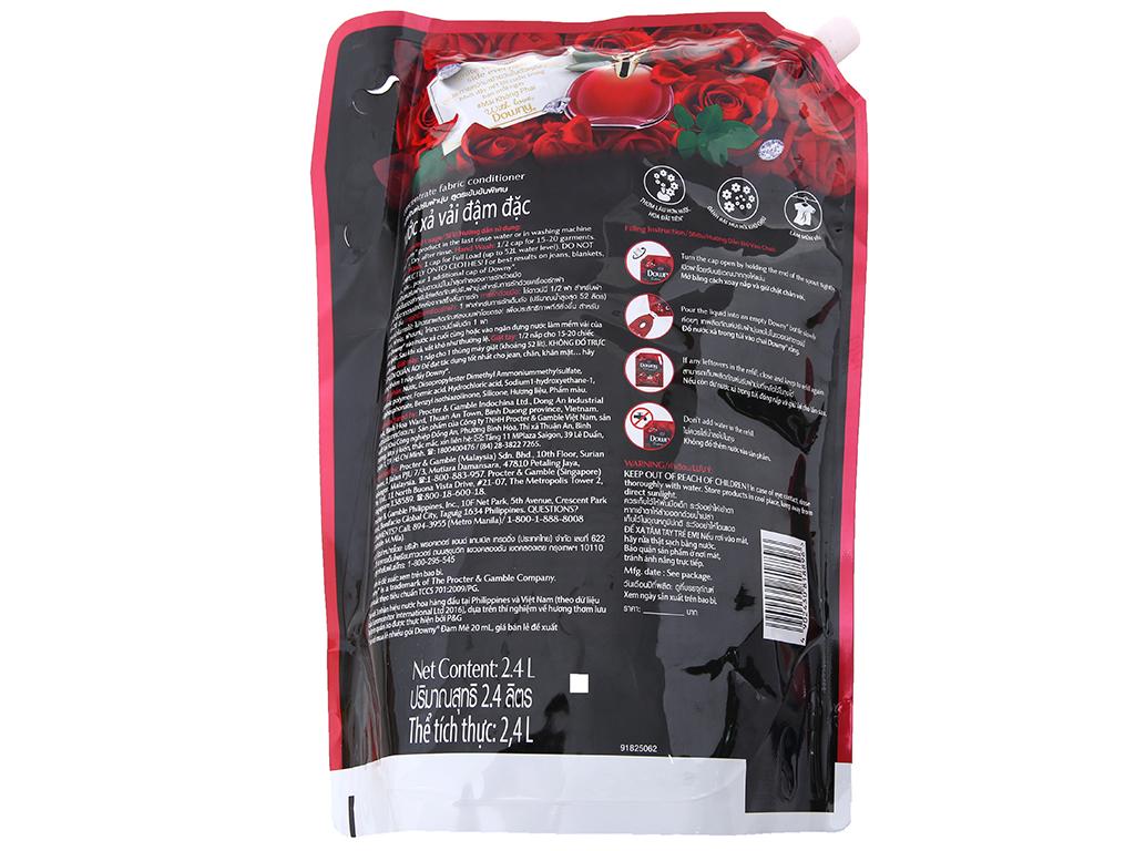 Nước xả vải Downy đam mê túi 2.4 lít 3