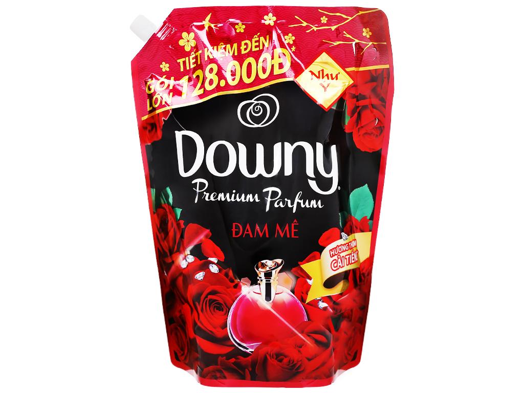 Nước xả vải Downy Premium Parfum đam mê túi 2.3 lít 1