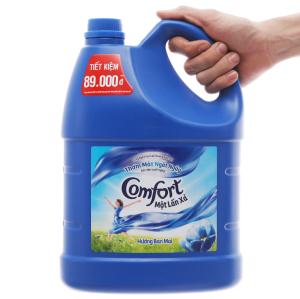 Nước xả vải Comfort một lần xả hương ban mai can 3.8 lít