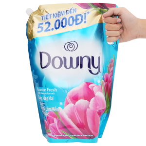 Nước xả vải Downy hương nắng mai túi 2.4 lít