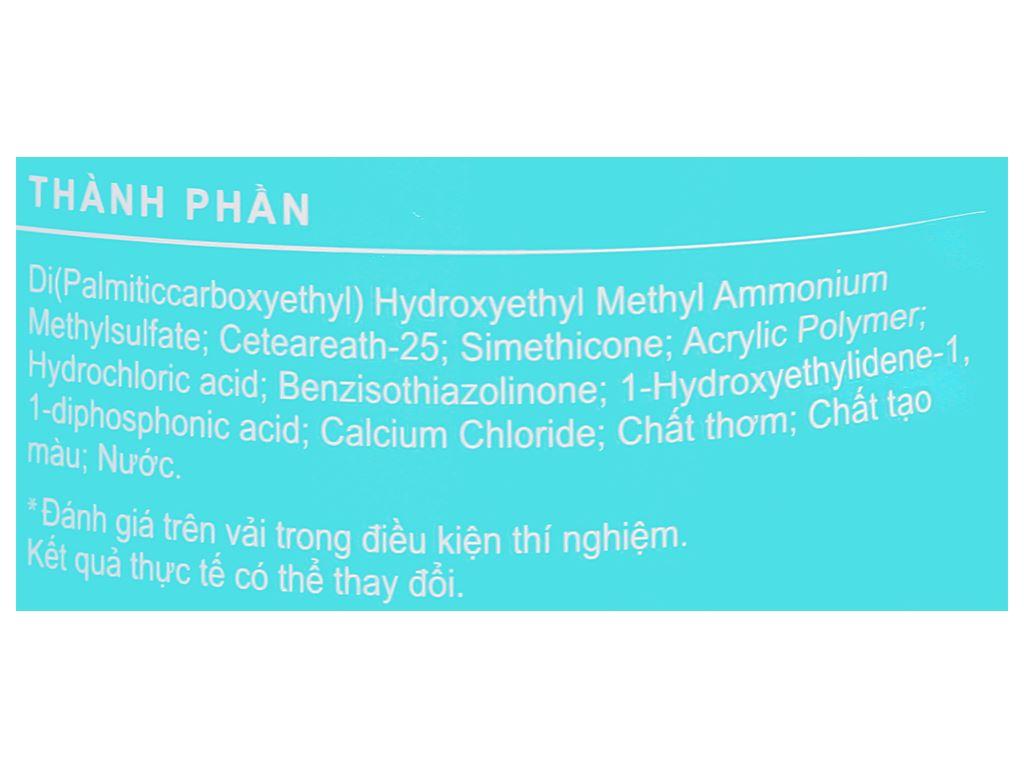 Nước xả vải Comfort hương nước hoa thiên nhiên lillie túi 1.5 lít 3