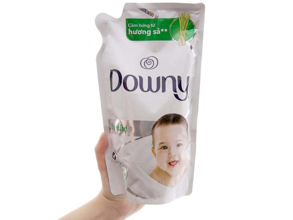 Nước xả vải Downy cho da nhạy cảm hương sả túi 800ml 3