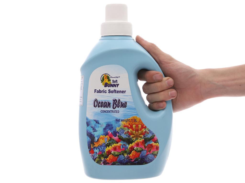 Nước xả vải Soft Bunny xanh biển chai 1.9 lít 5