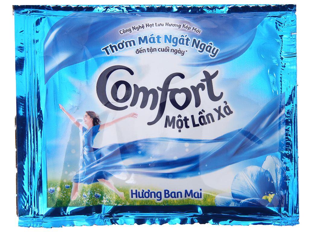 10 gói Nước xả vải Comfort một lần xả hương ban mai 20ml 2