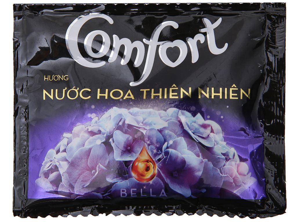 10 gói nước xả vải Comfort hương nước hoa thiên nhiên bella 20ml 2