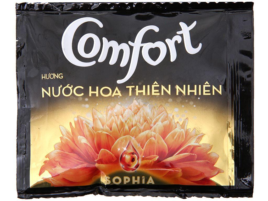 Nước xả vải Comfort nước hoa Sophia dây 10 gói x 20ml 2