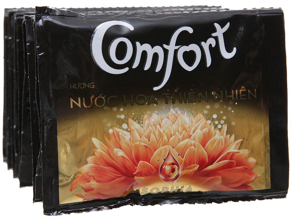 Nước xả vải Comfort nước hoa Sophia dây 10 gói x 20ml 4
