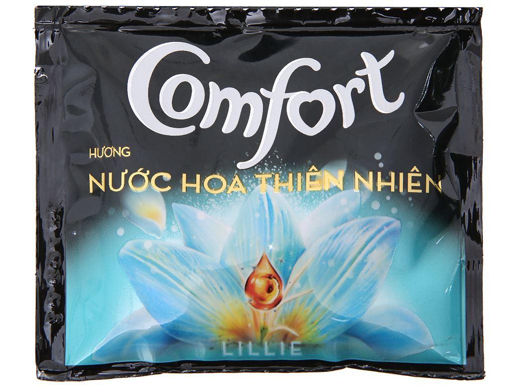 Nước xả vải Comfort nước hoa Lillie dây 10 gói x 20ml 2