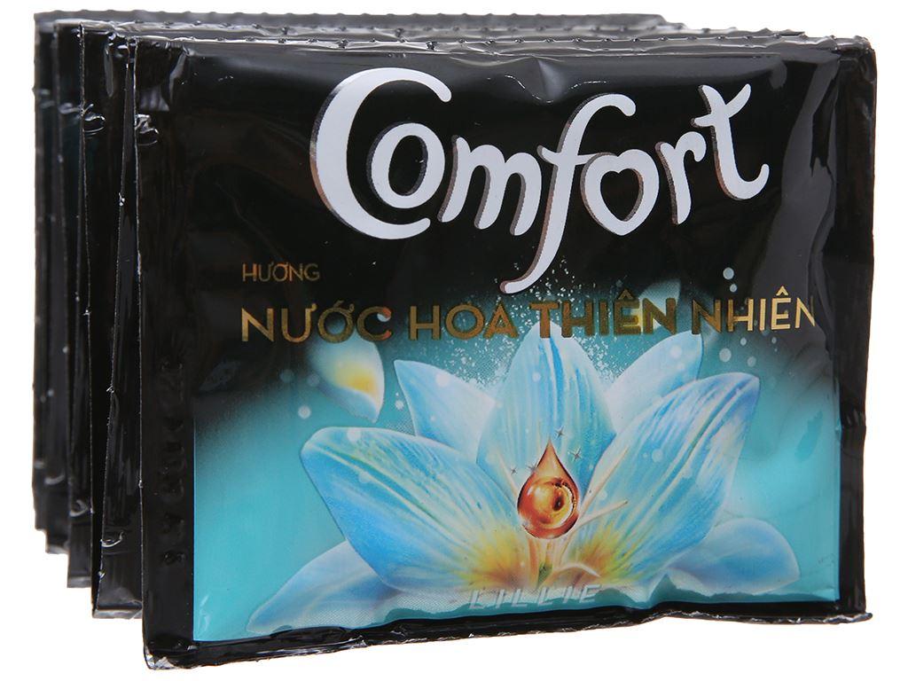 Nước xả vải Comfort nước hoa Lillie dây 10 gói x 20ml 4