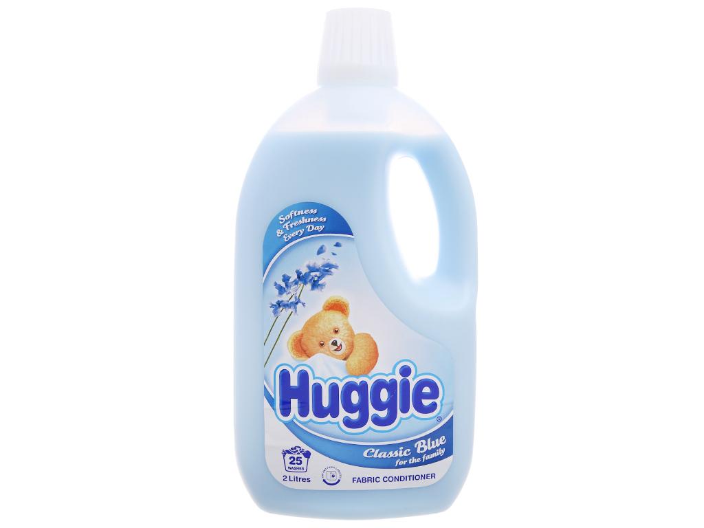 Nước xả vải cho bé Huggies hương biển chai 2 lít 2