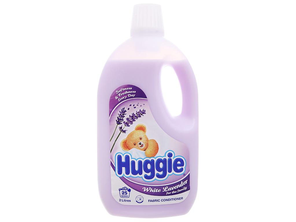 Nước xả vải cho bé Huggies hương lavender chai 2 lít 2
