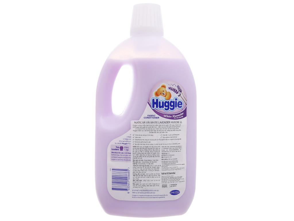 Nước xả vải cho bé Huggies hương lavender chai 2 lít 3