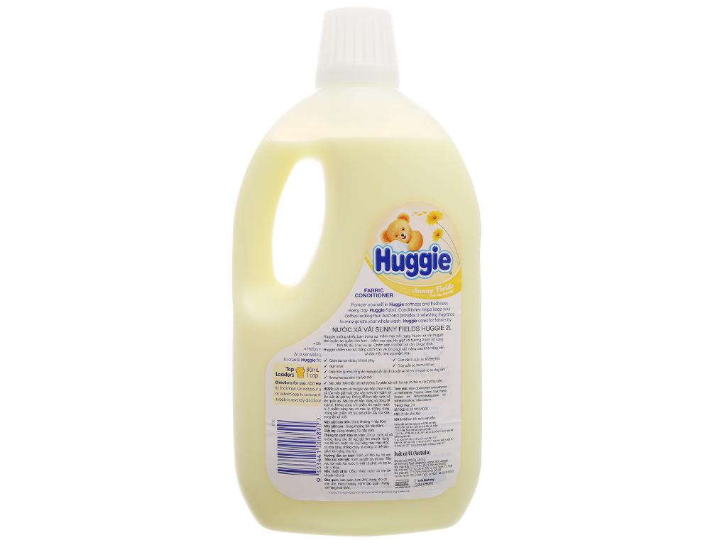 Nước xả vải cho bé Huggies hương sớm mai chai 2 lít 3